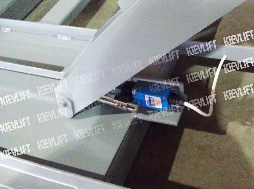 ножничный подъемник конструкция