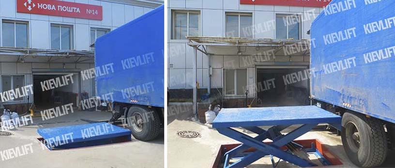 лифт грузовой гидравлический